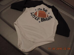 """Size 3-6 months """"Little Brother"""" Onesie London Ontario image 1"""