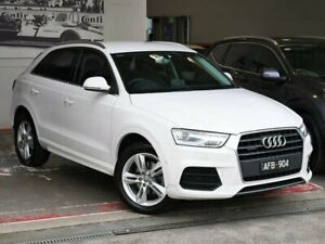 2015 Audi Q3 8U MY16 TDI S Tronic Quattro Sport White 7 Speed Sports Automatic Dual Clutch Wagon Doncaster Manningham Area Preview