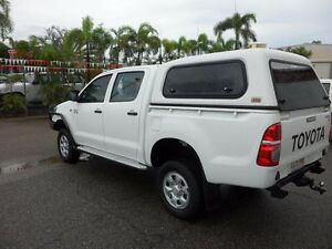 2013 Toyota Hilux KUN26R MY14 SR (4x4) 5 Speed Automatic Dual Cab Pick-up Winnellie Darwin City Preview