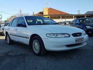 1998 Ford Falcon EL GLi White 4 Speed Automatic Sedan Blair Athol Port Adelaide Area Preview