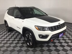 2017 Jeep Compass TRAILHAWK w/NAVI, HEATED SEATS AND WHEEL, REMO