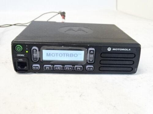 Motorola CM300d 136-174 MHz VHF Digital 45 Watt Radio AAM01JQH9JA1AN CM300