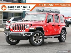 2019 Jeep Wrangler Unlimited Sahara - Company demo - leather - c