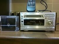 TECHNICS MINI DISC RECORDER SJ-HD501
