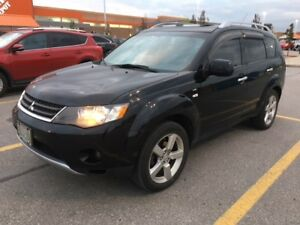 2008 Mitsubishi Outlander 7seat 1owner leather interior like new