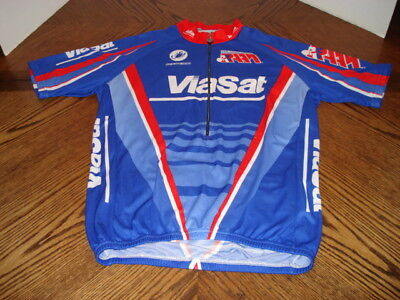 a040cc87f Squadra Team Division Cycling Biking Jersey Shirt Zip-up Size XL Style  1240