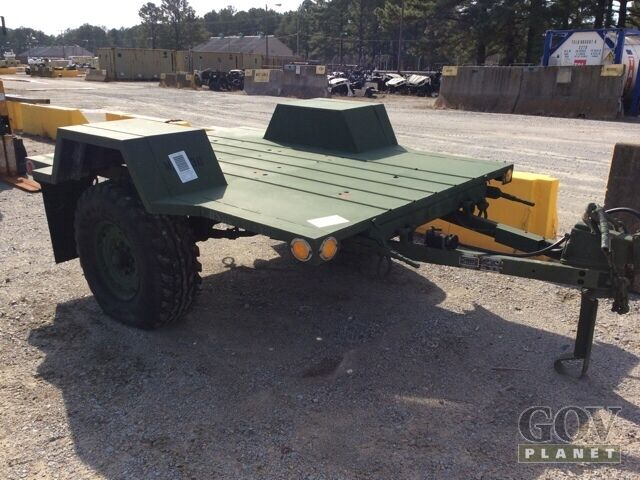 m116 a3 1 ton military trailer great condition cargo. Black Bedroom Furniture Sets. Home Design Ideas