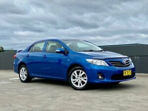 2012 Toyota Corolla ZRE152R MY11 Ascent Sport Blue 6 Speed Manual Sedan Blacktown Blacktown Area Preview
