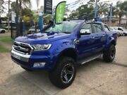 2016 Ford Ranger PX MkII XLT Blue Sports Automatic Utility Cabramatta Fairfield Area Preview