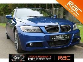2011 61 BMW 3 SERIES 2.0 318D SPORT PLUS EDITION TOURING 5D 141 BHP DIESEL