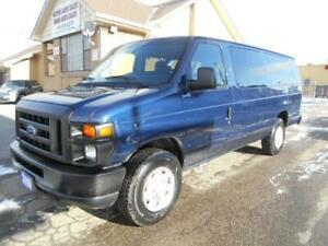 2010 FORD E350 XL 15Passenger Extended Club Wagon 177,000KMs