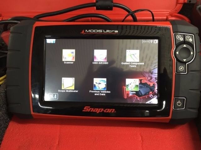 diagnostic machine (snap on) or another brand