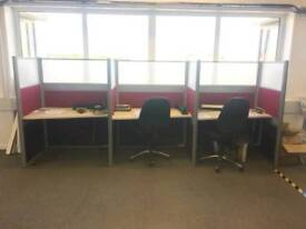 Office pods. Price per section