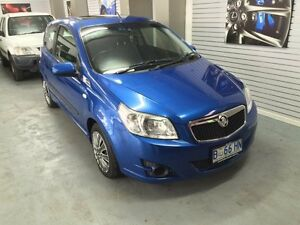2010 Holden Barina TK MY10 Blue 4 Speed Automatic Hatchback Hobart CBD Hobart City Preview
