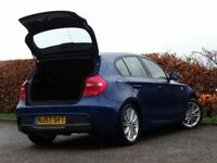 BMW 1 SERIES 1.6 116I M SPORT 5d (blue) 2007