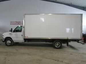 2014 Ford Cab & Chassis E450 W/16 FT CUBE