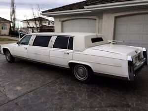 1986 Cadillac limo fleetwood (mint) Strathcona County Edmonton Area image 3