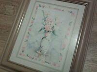 Floral frame print by Stephen boulter