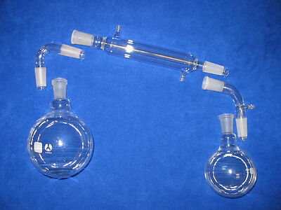 1000ml 2440 Simple Distillation Kit With Round Or Flat Bottom Flasks