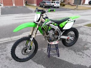 Kawasaki KX-450F Dirt bike