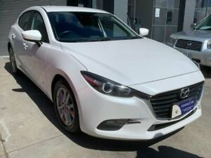 2016 Mazda 3 BM5478 Neo SKYACTIV-Drive White 6 Speed Sports Automatic Hatchback North Hobart Hobart City Preview