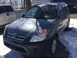 2005 Honda CR-V AWD Loaded Mint