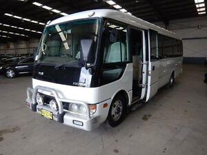 2003 Mitsubishi Fuso ROSA White Bus Smithfield Parramatta Area Preview