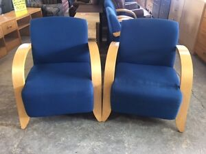 AMAZING DEAL ON A PAIR OF EXCELLENT QUALITY ACCENT CHAIRS