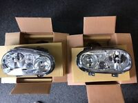 VW GOLF MK4 HEADLIGHTS