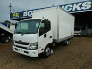 2015 Hino 300 XZU710R 616 Auto MWB White Cab Chassis 4.0l 4x2 Rocklea Brisbane South West Preview