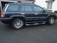 Jeep grand cherokee 4.7 v8 Lpg converted