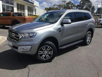 2016 Ford Everest Silver Sports Automatic Wagon