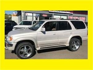 1999 TOYOTA 4 RUNNER 4X4 LTD LEATHER FULLY LOADED