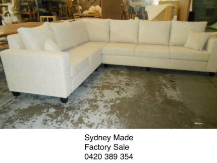 BEAUTIFUL SYDNEY MADE CORNER SOFA Pyrmont Inner Sydney Preview
