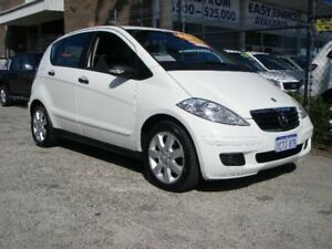 2008 Mercedes-Benz A170 W169 07 Upgrade Classic White 7 Speed CVT Auto Sequential Hatchback Wangara Wanneroo Area Preview