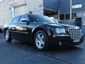 2008 Chrysler 300C LE MY08 CRD Black 5 Speed Automatic Sedan Condell Park Bankstown Area Preview