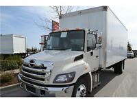 2015 Hino 338 with 24' Van - Canadian Built Truck for Sale