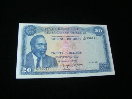 Kenya 1972 20 Shillings Banknote VF Pick #8c