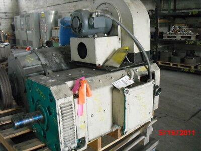 75 Hp Dc Baumuller Electric Motor 2200 Rpm 180mv Frame Dpfv 500 V