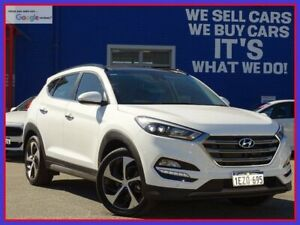 2016 Hyundai Tucson TLE Highlander AWD Pure White 6 Speed Sports Automatic Wagon Welshpool Canning Area Preview