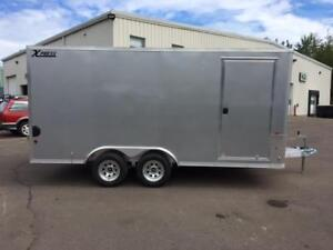 NEW 2018 XPRESS 8' x 16' ALUMINUM ENCLOSED TRAILER