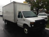 2012 FORD E-450 CUBE truck super duty with power tailgate
