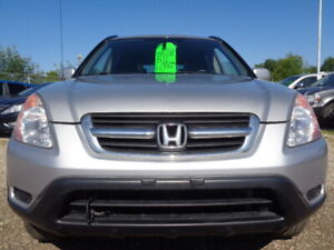 2003 Honda CR-V EX-L4WD-HEATED LEATHER-SUNROOF--ONLY 149K