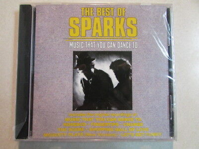 THE BEST OF SPARKS: MUSIC THAT YOU CAN DANCE TO CURB RECORDS NEW SEALED CD