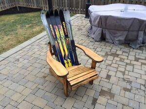 Retro Vintage ski muskoka chair