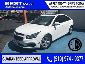 CHEVY CRUZE LT - APPROVED IN 30 MINUTES! - ANY CREDIT LOANS