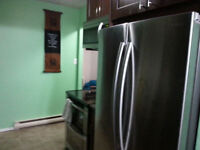 1 bedroom in a two bedroom condo for rent - Partially furnished