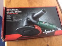 New Parkside angle grinder