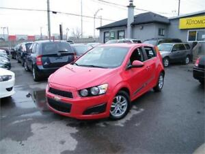 2013 Chevrolet Sonic LT . AUTOMATIQUE . 85 870 KM