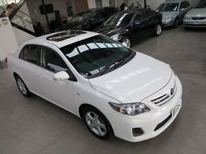 2011 Toyota Corolla ZRE152R MY11 Conquest White 4 Speed Automatic Sedan Keilor Park Brimbank Area Preview